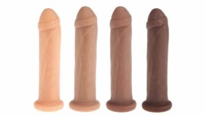 Leroy - Our biggest posable silicone dildo