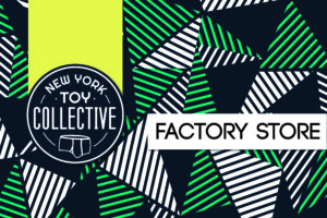 New York Toy Collective Factory Store Sign