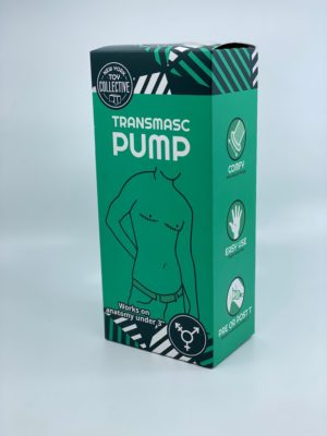Front and right side of Trans Masc Pump Box