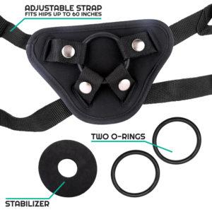 Explorer Neoprene Strap-on Harness